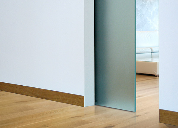 ECLISSE Syntesis profile for flush baseboard