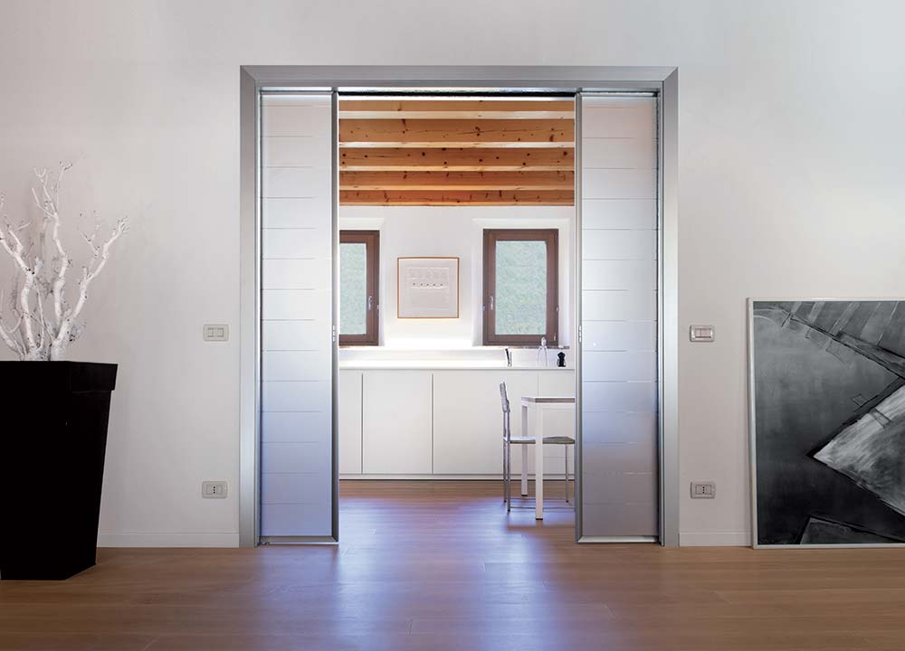 Double Pocket Door System by ECLISSE