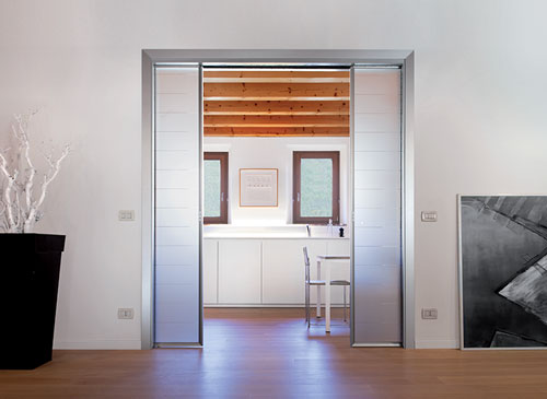 ECLISSE Double - Double Pocket Door